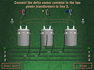 Transformer Banks 2: Three Phase Connections on