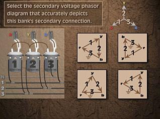 transformer banks 4 voltage phasor diagrams Teaching Tape Diagrams Transformer Banking Diagrams #8